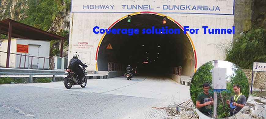Latest company case about Outdoor Repeater Coverage For Tunnel Solution