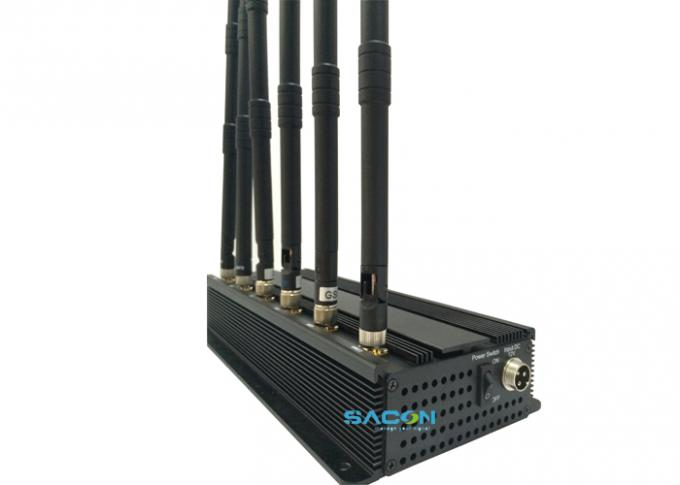 Anti jammer phone signal , 5 Antennas mobile phone signal Jammer