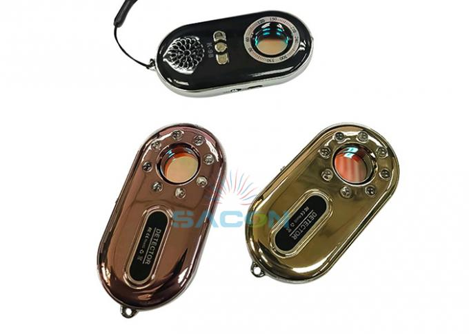 Portable Spy Bug Anti Detector Hidden Camera With Against Theft Vibration Button 0