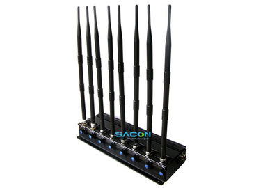 2.4G 5.8G Cell Phone Signal Jammer 20 Watt Omni - Directional Antennas supplier