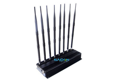 18 Watt Indoor Cell Phone Signal Inhibitor 12V DC , Cell Phone Frequency Jammer supplier