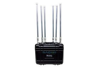 Max 90w High Power Backpack Jammer 6 Channels For Military Forces / SWAT Teams