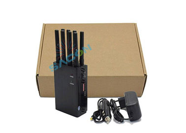 8 Bands Portable Mobile Phone Signal Booster 20m Range Block 2G 3G 4G GPS WiFi