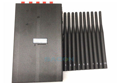 Handheld 5G Signal Jammer Blocker 10 Antennas 1w Each Band 2G 3G 4G 5G WiFi 15m