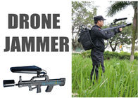 China 5.8Ghz / 2.4 Ghz Drone Jammer 15w , All In One Handheld Anti Drone Jamming Device factory