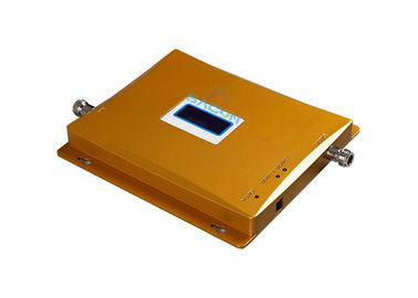China Yellow 65dB Cell Signal Amplifier , Mobile Phone Signal Enhancer 195mm*180mm*20mm factory