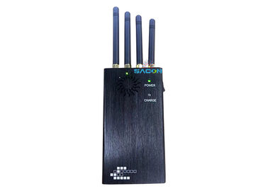 2w 4 Bands 3G 4G Signal Jammer 1.5 Hours Working Used For Meeting Room