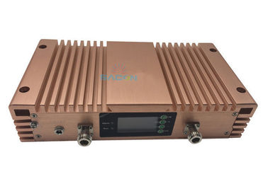 China 20dBm Cell Phone Signal Repeater , 3 Bands Cell Signal Amplifier DCS 3G 4G LTE 2600Mhz factory